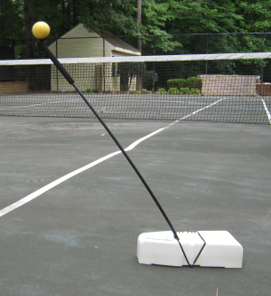 Tennis stroke trainer