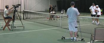 Tennis Coach Kyril Popoff, Tennis Coach Mauro Marcos