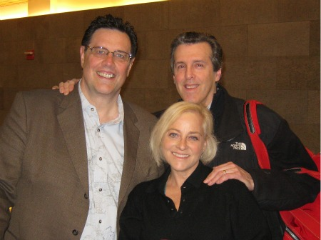 Tom Antion Rick Meyer Jane Ubell at City View Tennis Club NYC